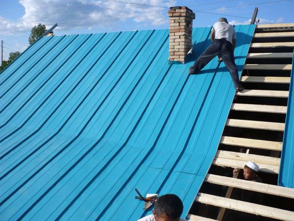 Крыша.ремонт своими руками